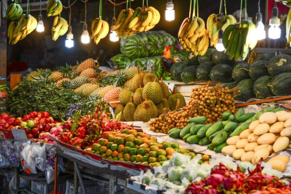 Night market à Phuket