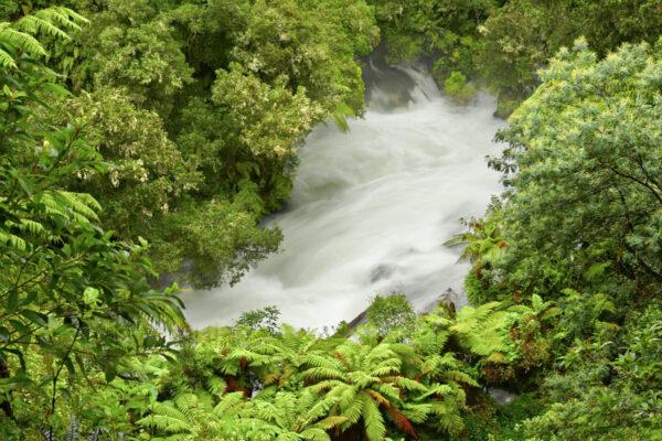 Okere Falls à Rotorua