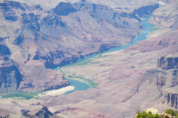 Panorama sur le Grand Canyon