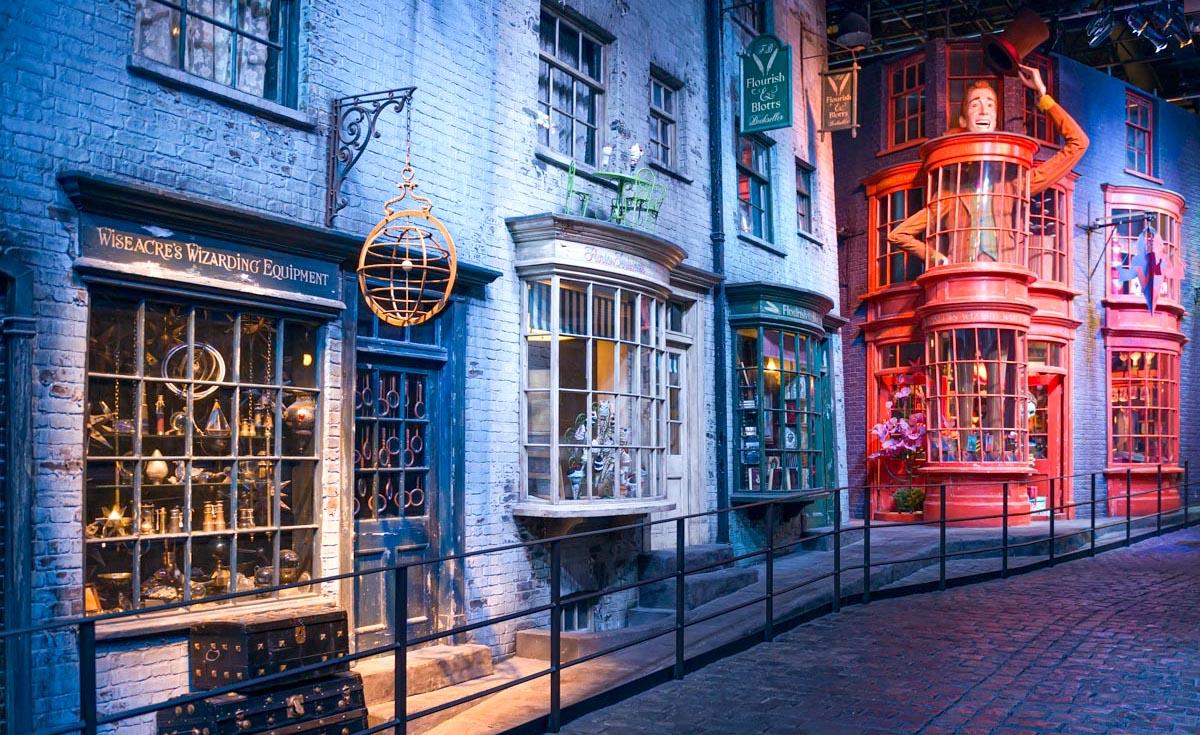 Parc Harry Potter à Londres