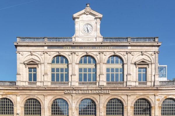 Quartier des gares à Lille