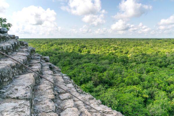 Ruines maya de Coba, proches de Tulum