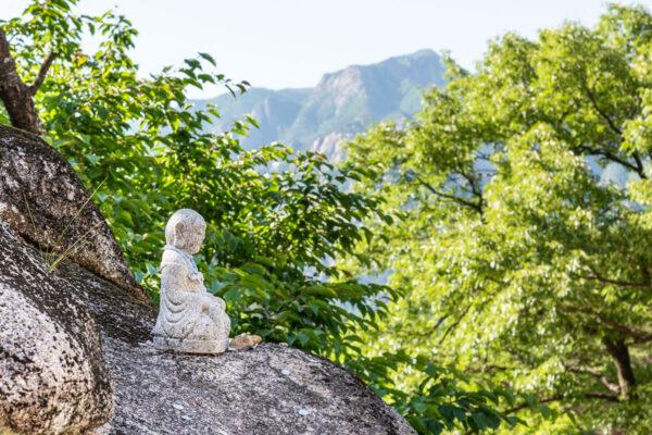 Statue de Bouddha à Seoraksan