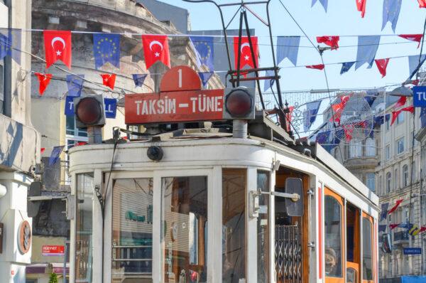 Taksim à Istanbul