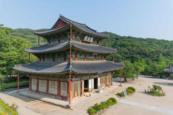 Temple Geumsansa proche de Jeonju