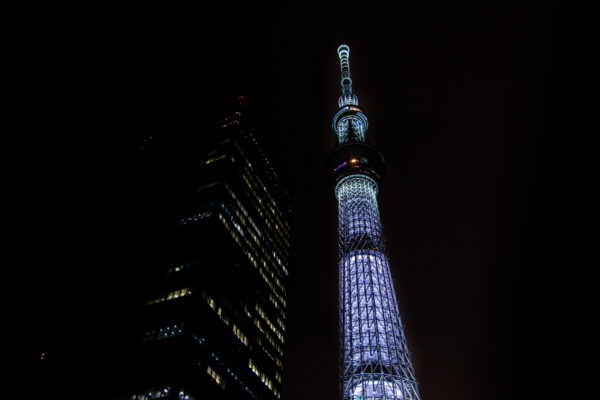 Tokyo Skytree de nuit