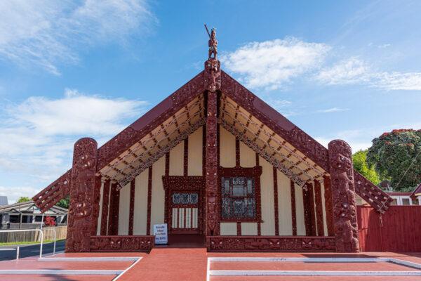 Village maori de Ohinemutu à Rotorua