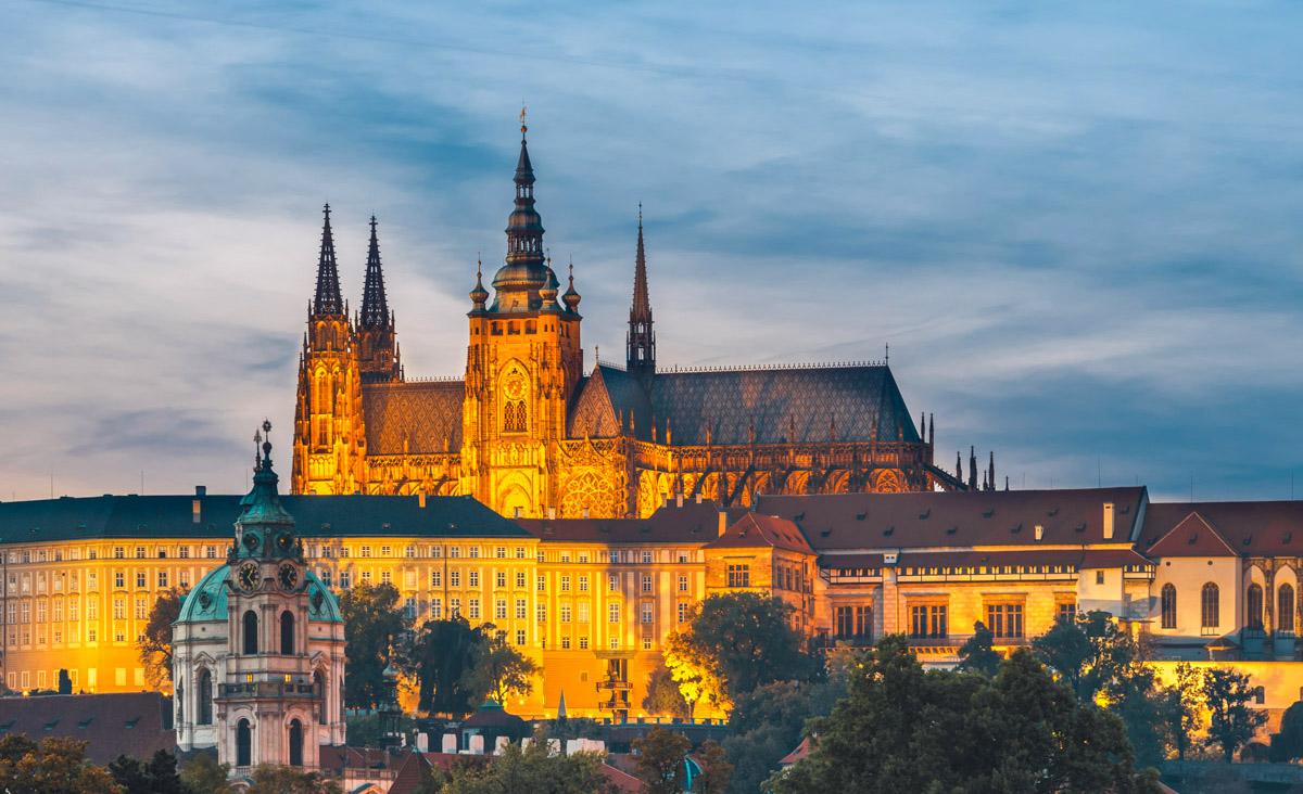 Visite du château de Prague