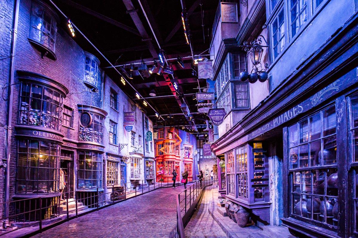 Le monde d'Harry Potter au Studio Tour London