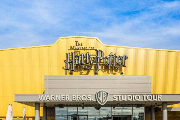 Visiter le parc Harry Potter à Londres : entrée des studios