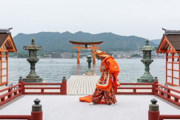 Bugaku à Miyajima
