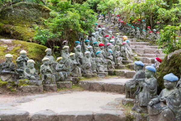 Chemin du temple bouddhiste Daisho-in