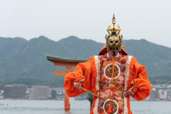 Danse traditionnelle bugaku