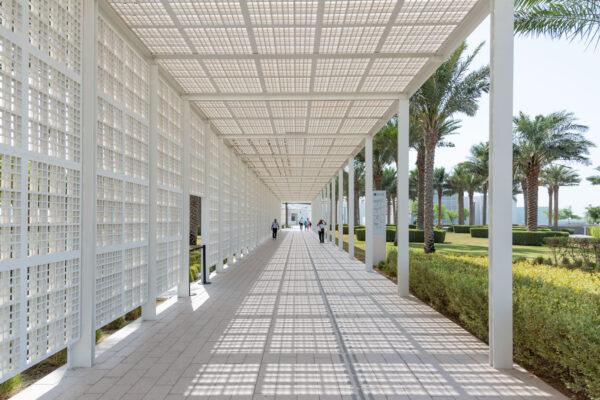 Entrée du Louvre Abu Dhabi