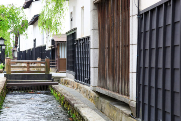 Hida Furukawa proche de Takayama