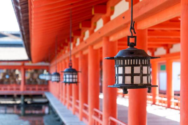 Itsukushima shrine à Miyajima