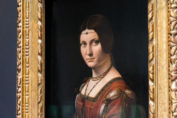 Oeuvre de Léonard de Vinci au Louvre d'Abu Dhabi
