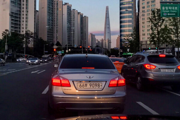 Louer une voiture à Séoul
