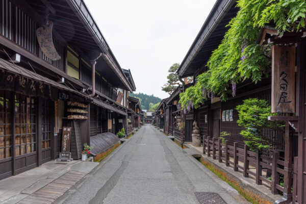 Quartier Sanmachi Suji à Takayama au Japon