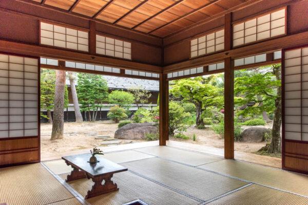 Une des salles du Takayama Jinya