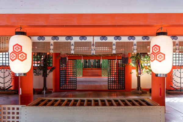Sanctuaire shinto à Miyajima