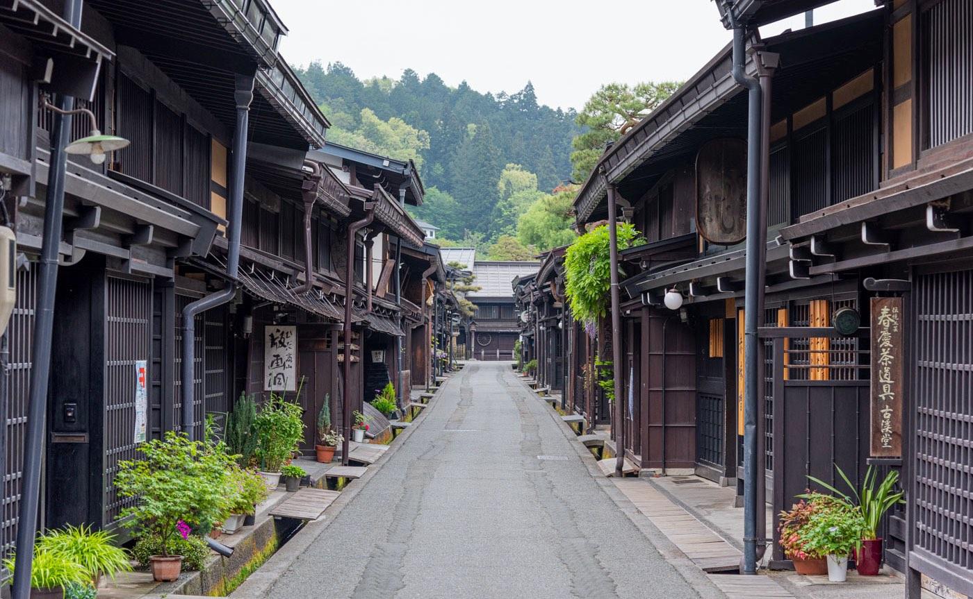 Takayama au Japon