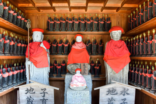 Temple à Miyajima au Japon