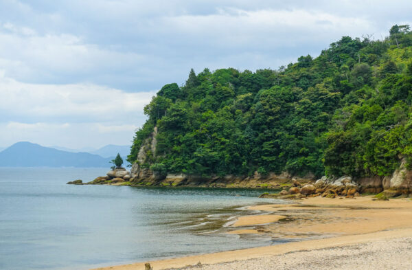 Tsutsumigaura beach à Miyajima