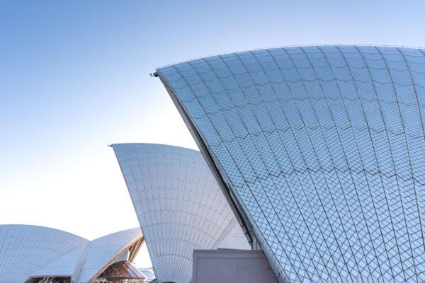 Architecture de l'opéra de Sydney