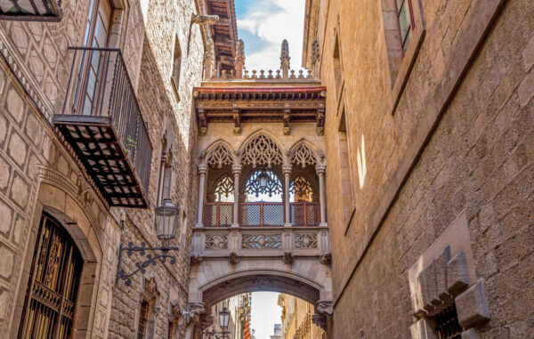 Barrio Gotico, le quartier gothique et historique de Barcelone