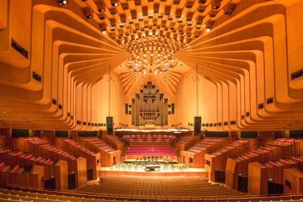 Concert Hall de l'opéra de Sydney