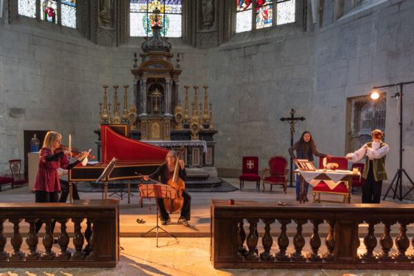 Concert dans la Sainte-Chapelle de Chambéry