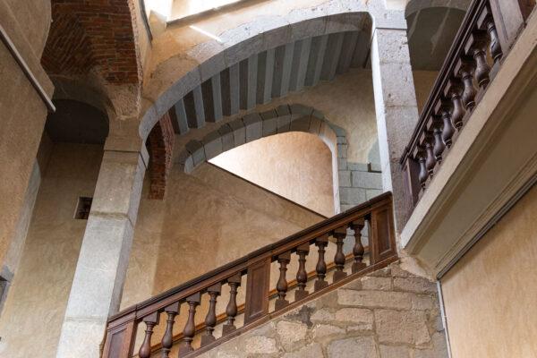Escaliers d'un hôtel particulier à Chambéry