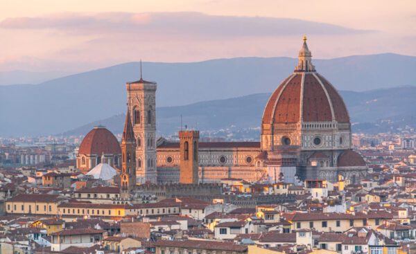 Panorama sur le Duomo de Florence