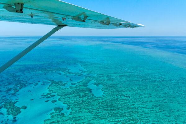 Réserver un vol à la barrière de corail