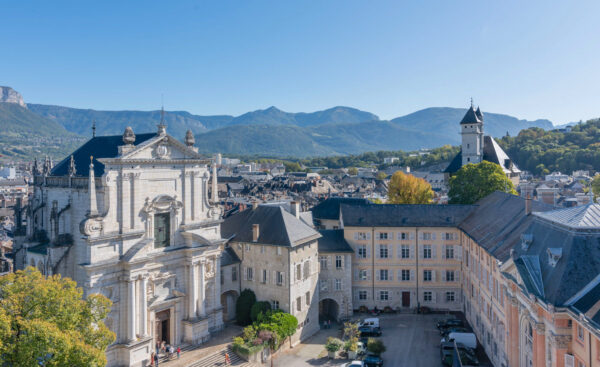 Vue depuis le château des ducs de Savoie
