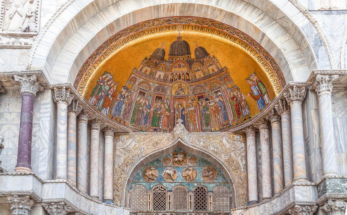 basilique saint marc sac à dos