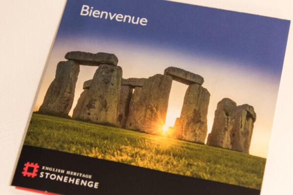 Billet pour Stonehenge