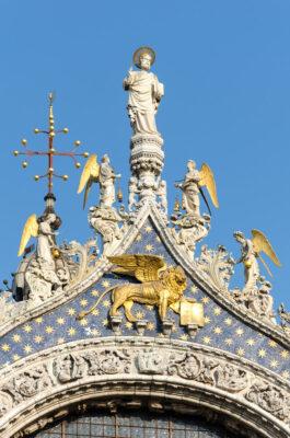 Façade de la basilique Saint-Marc
