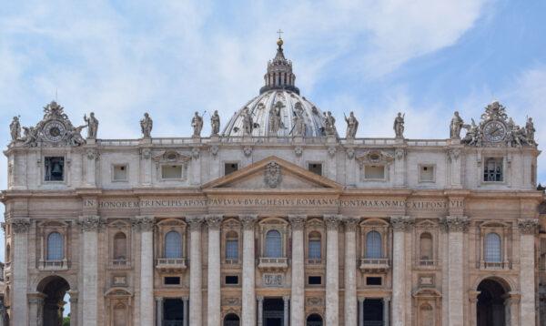 Façade de la basilique Saint-Pierre - Cité du Vatican