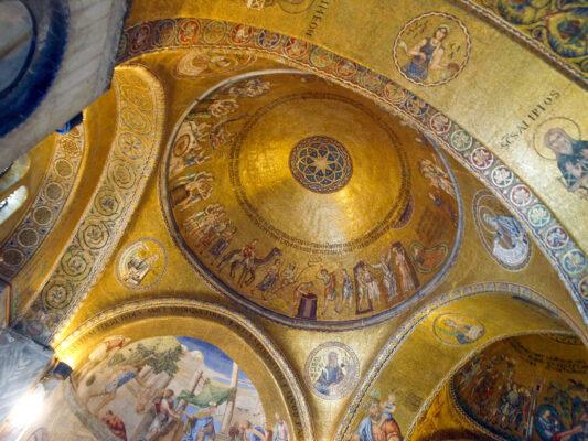 Intérieur de la basilique Saint-Marc