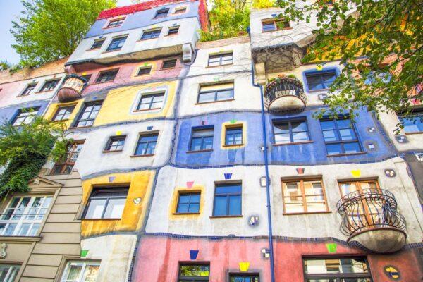 Quartier de Landstrasse à Vienne en Autriche