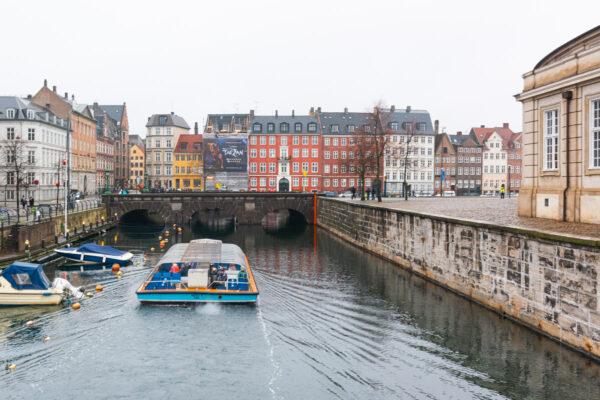 Balade en bateau sur les canaux de Copenhague