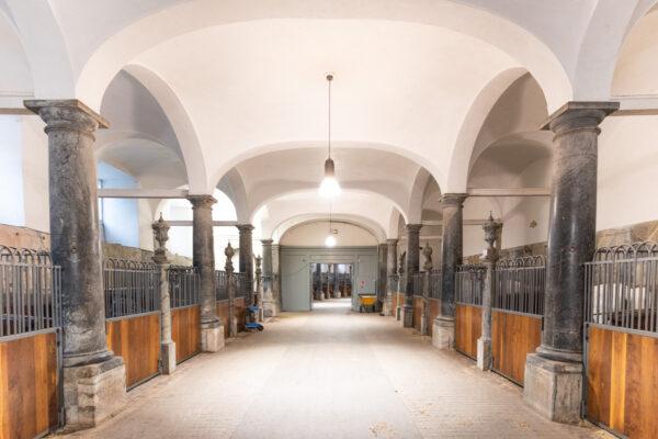 Ecuries royales au château de Christiansborg