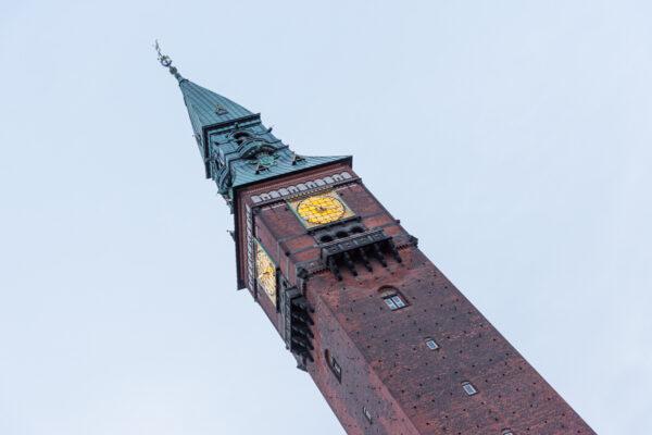 Rådhus, hôtel de ville de Copenhague