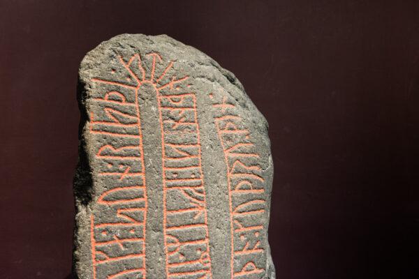 Pierre runique au Nationalmuseet de Copenhague