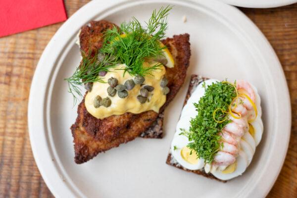 Smørrebrød, spécialité danoise