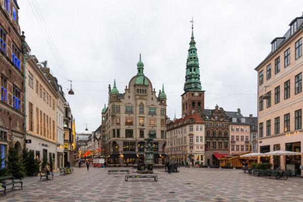 Strøget à Copenhague