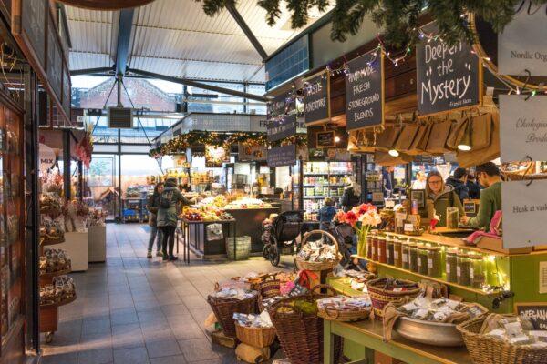 Torvehallerne, marché couvert de Copenhague