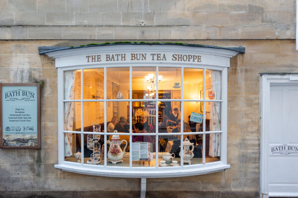 Afternoon tea à Bath en Angleterre